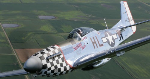 twilight tear p-51 d mustang